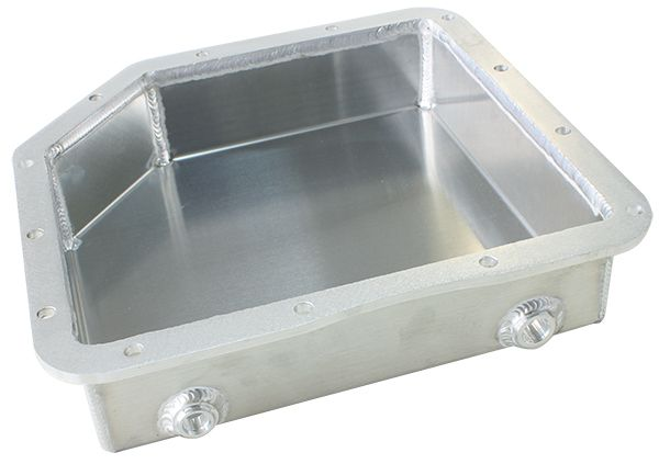 strong 3 deep fabricated transmission pan including filter Turbo 350 Screen strong 3 deep fabricated transmission pan including filter extension strong br natural finish suit gm turbo 350
