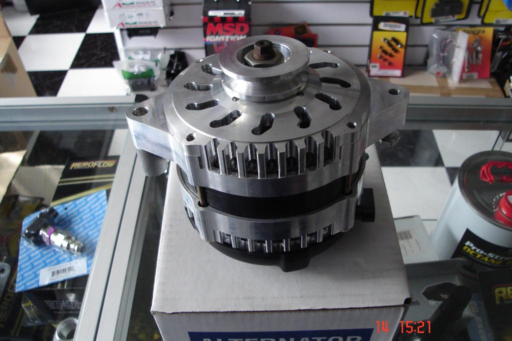 Billet 170A One Wire Alternator