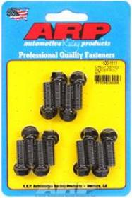 ARP EXTRACTOR BOLT,, Hex Head, 3/8 in. Wrench, Custom 450, Black Oxide, 3/8 in.-16, 1.000 in. U.H.L., Set of 12