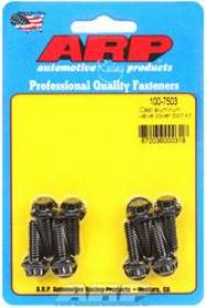 ARP Valve Cover Bolts, Chromoly, Black Oxide, 12-Point, 1/4 in.-20 Diameter, Cast Aluminum Covers, Set of 8
