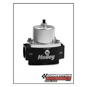 Holley HY-12-847 Holley Dominator Billet Fuel Pressure Regulator Bypass Style Adjustable 4.5-9 psi