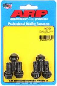 ARP ENGINE MOUNT Bolts, Black Oxide, 12-Point, Mount to Block, Chevy, Small, Big Block, Set of 6