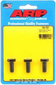 ARP Cam Bolts, High Performance, Black Oxide, 5/16 in.-18 Thread, Chevy, Big/Small Block, Set of 3