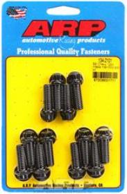 ARP Bolts, Intake Manifold, Chromoly, Black Oxide, 12-Point Head, Chevy, Small Block Kit