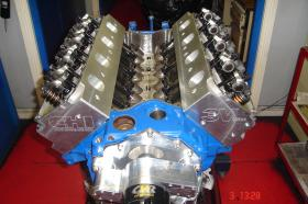 Cleveland 434ci 700+ HP Arrow Cleveland Block Street Roller Cam CHI Alloy Heads T&D Shaft Rockers
