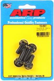 ARP Oil Pump Fasteners, Bolts, 12-Point, Chromoly, Black Oxide, Ford, V8, Set of 4