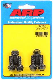 ARP 150-2202  High Performance Series Pressure Plate Bolt Kit, Hex Head, Chromoly Steel, Black Oxide, Ford 5.0L