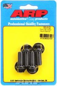 ARP ENGINE MOUNT Bolts, Black Oxide, Hex, Mount to Block, Ford, 255, 260, 289, 302, 351W