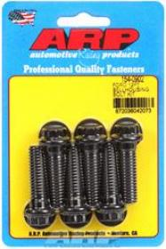 ARP Bellhousing Bolts, 12-point, 7/16-14 in. Thread, Steel, Black Oxide, Ford, 289, 302, 351W, Kit