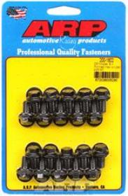 ARP Oil Pan Bolts, Black Oxide, Hex Head, Chevy, Small Block, Kit - Chrysler