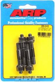 ARP Carburetor Studs, Black Oxide, 5/16-18/24 in. x 2.225 in. Long, Set of 4