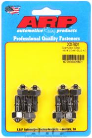 ARP Valve Cover Stud Kit, lack Oxide Hex, Stamped Steel Covers, 1/4