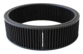 AeroFlow Washable Round Cotton Air Filter Element 14'' x 4'' Black