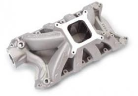 EDELBROCK SUPER VICTOR INTAKE MANIFOLD, Single Plane, Aluminum, for SVO Block with 8.7 in. Deck Height, Ford 351W, Each