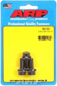 ARP Cam Bolts, Pro Series, Black Oxide, 5/16 in.-18 Thread, Chevy, Big, Small Block, Set of 3