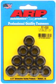 ARP Nut Kit 8740 Chrome Moly 7/16˝-20, 12 Point (10 Pack)