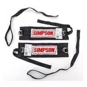 SIMPSON ARM RESTRAINTS BLACK