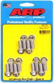 ARP EXTRACTOR  Bolts, Hex Head, 5/16 in. Wrench, Stainless Steel, Polished, 3/8 in.-16, 0.750 in. U.H.L., Set of 12