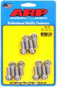 ARP EXTRACTOR  Bolts, 12-Point, 3/8 in. Wrench, Stainless Steel, Polished, 3/8 in.-16, 0.750 in. U.H.L., Set of 12
