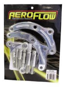 AEROFLOW Billet Alternator Bracket Suit B/B Chevy Low Mount Passenger Side Short Water Pump.(Polished or Black)