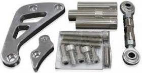 AEROFLOW Billet Altermator Bracket Suit S/B Chevy Low Mount Passenger Side Short Water Pump.(Polished or Black)