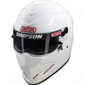 SIMPSON - Diamondback 7-1/2 L SA10 Helmet WHITE