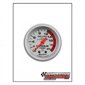 Autometer Ultra-Lite Nitrous Pressure  2-1/16'' 0-2000 Psi Analog Gauge