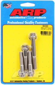 ARP Water Pump Bolt Kit, (Short Pump) Stainless Steel, Chev Small Block, 12pt Short
