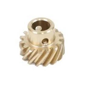 COMP Cams Bronze Distributor Gears - Distributor Gear, Aluminum, Bronze, Race, .500 in. Diameter Shaft, Ford, 260-302, 351W, Each