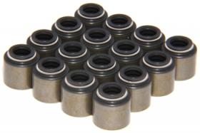 COMP CAMS (16) Steel Jacketed Viton Valve Seals: For GM LS; #26921-KIT