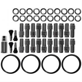 RACE STAR 601-1416D-20 Wheel Installation Kit , Shank Seat Lug Nuts 1/2