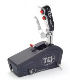 TCI Outlaw Shifters, Automatic Shifter, Outlaw Series, Cable Operated, GM, Powerglide w/TCU, Pistol Grip, Each