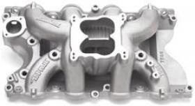 EDELBROCK PERFORMER RPM Air-Gap Intake Manifolds, Dual Plane, Aluminum, Natural, Square Bore, Ford, 429/460, Each