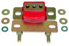 TCI Severe Duty Transmission Crossmember Mount Kits, Automatic Transmission Mount, Polyurethane, Red, GM, Each