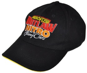 <strong>Aeroflow Outlaw Funny Car Black Cap</strong><br /> Adjustable fit