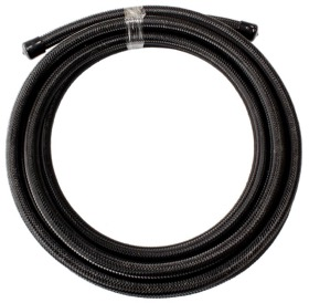 <strong>100 Series Stainless Steel Braided Hose -4AN - Black</strong><br />3 Metre Length