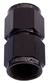 <strong>Straight Female Swivel Coupler -3AN</strong> <br />Black Finish