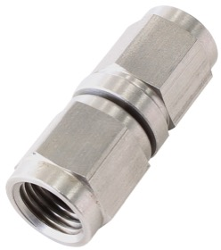 <strong>Stainless Steel Female Coupler -4AN</strong> <br />