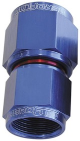 <strong>Female Swivel Coupler Reducer -6AN to -8AN</strong> <br />Blue Finish