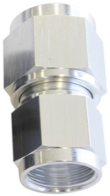 <strong>Female Swivel Coupler Reducer -10AN to -12AN </strong><br />Silver Finish