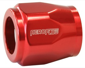 "<strong>Hex Hose Finisher 5/8"" (15.8mm) Inside Diameter</strong><br /> Red Finish. Suits -6AN Hose"