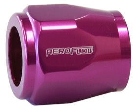 "<strong>Hex Hose Finisher 11/16"" (17.5mm) Inside Diameter</strong><br /> Purple Finish. Suits -8AN"