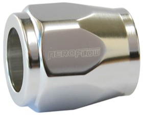 <strong>Hex Hose Finisher 11/16&quot; (17.5mm) Inside Diameter</strong><br /> Silver Finish. Suits -8AN