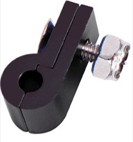 "<strong>Billet Aluminium P-Clamp 5/16"" (7.9mm) </strong><br />Black Finish"