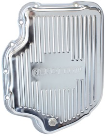 <strong>Chrome Transmission Pan</strong><br />Suit GM TH400, Deep Pan With Drain Plug