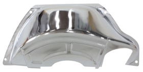 <strong>Chrome Flywheel Dust Cover</strong><br />Suit GM Powerglide With SB & BB Chev
