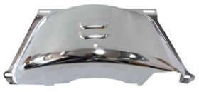 <strong>Chrome Flywheel Dust Cover</strong><br />Suit GM TH350-400 With SB & BB Chev