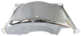 <strong>Chrome Flywheel Dust Cover</strong><br />Suit GM 700 With SB & BB Chev