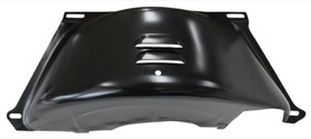 <strong>Black Flywheel Dust Cover</strong><br />Suit GM TH350-400 With SB & BB Chev