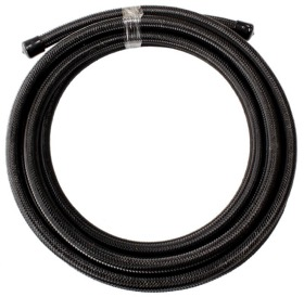 <strong>200 Series PTFE Black Stainless Steel Braided Hose -3AN</strong><br />4.5 Metre Length